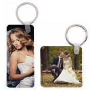Faux - Leather Sublimation Keyrings  (pack of 10)